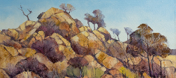 Kruger Park Rocks | 2019 | Oil on Canvas | 40 x 60 cm