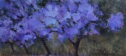 Jacaranda | 2020 | Oil on Canvas | 34 x 48 cm