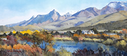 Klein Swartberg near Ladismith – Cape | 2007 | Oil on Canvas | 45 x 120 cm