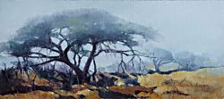 Morning Mist - Kruger Park | 2013 | Oil on Canvas | 30 x 43 cm